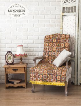 Накидка на кресло Mosaique De Fleurs (80х200 см) - интернет-магазин Моя постель