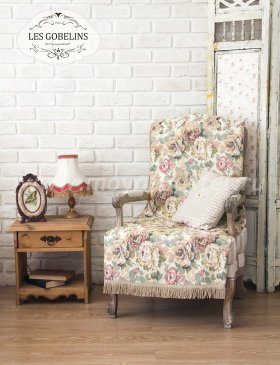 Накидка на кресло Fleurs Hollandais (80х160 см) - интернет-магазин Моя постель