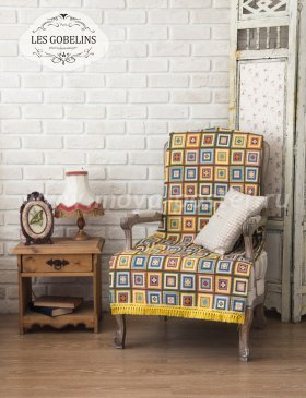 Накидка на кресло Labyrinthe (80х120 см) - интернет-магазин Моя постель
