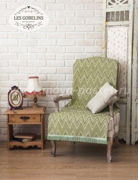 Накидка на кресло Zigzag (100х190 см) - интернет-магазин Моя постель