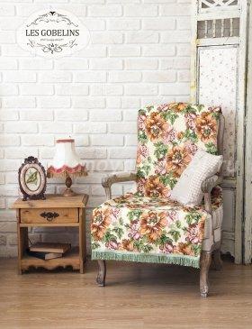 Накидка на кресло Pivoines (100х170 см) - интернет-магазин Моя постель