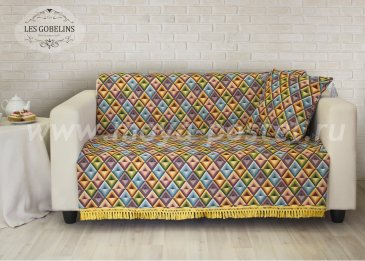 Накидка на диван Kaleidoscope (140х210 см) - интернет-магазин Моя постель