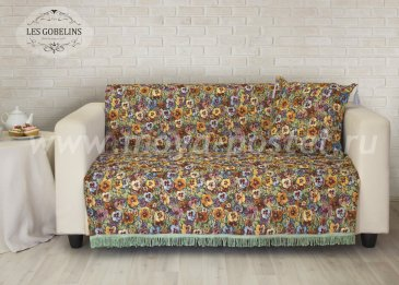 Накидка на диван Fleurs De Jardin (130х210 см) - интернет-магазин Моя постель