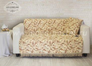 Накидка на диван Feuilles Beiges (160х210 см) - интернет-магазин Моя постель