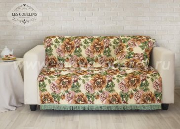 Накидка на диван Pivoines (130х200 см) - интернет-магазин Моя постель