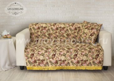 Накидка на диван Bouquet Francais (160х160 см) - интернет-магазин Моя постель