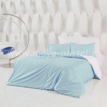 Постельное белье: Небесно Голубой + Нероли (1,5 спальное) в интернет-магазине Моя постель