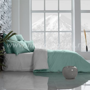 Постельное белье Perfection: Перечная Мята + Туманная Гавань (1,5 спальное) в интернет-магазине Моя постель