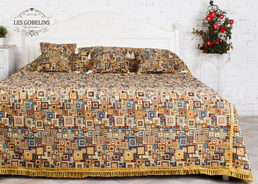 Покрывало на кровать Collage geometrique (260х240 см) - интернет-магазин Моя постель