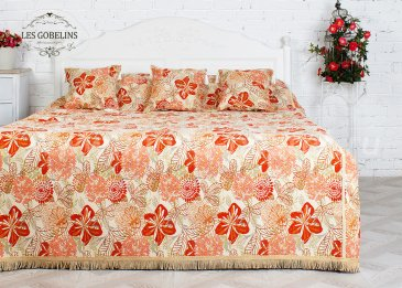Покрывало на кровать Fleurs vector (240х260 см) - интернет-магазин Моя постель