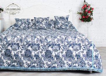 Покрывало на кровать Grandes fleurs (220х220 см) - интернет-магазин Моя постель