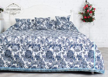 Покрывало на кровать Grandes fleurs (260х270 см) - интернет-магазин Моя постель