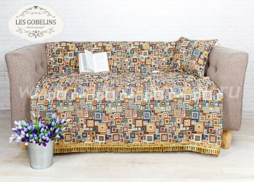 Накидка на диван Collage geometrique (150х210 см) - интернет-магазин Моя постель