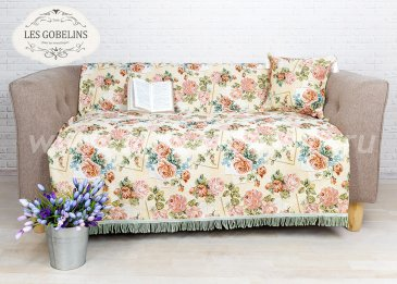 Накидка на диван Rose delicate (140х210 см) - интернет-магазин Моя постель