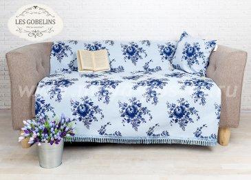 Накидка на диван Gzhel (130х220 см) - интернет-магазин Моя постель