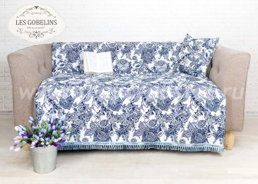 Накидка на диван Grandes fleurs (160х220 см) - интернет-магазин Моя постель
