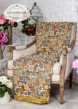 Накидка на кресло Collage geometrique (50х190 см) - интернет-магазин Моя постель