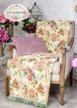 Накидка на кресло Rose delicate (100х190 см) - интернет-магазин Моя постель