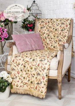 Накидка на кресло Fleurs anglais (90х170 см) - интернет-магазин Моя постель