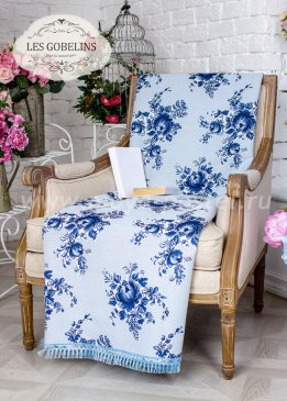 Накидка на кресло Gzhel (50х130 см) - интернет-магазин Моя постель
