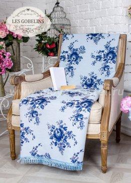 Накидка на кресло Gzhel (100х160 см) - интернет-магазин Моя постель