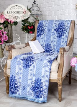 Накидка на кресло Gzhel (80х120 см) - интернет-магазин Моя постель