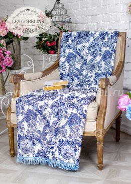 Накидка на кресло Grandes fleurs (80х150 см) - интернет-магазин Моя постель