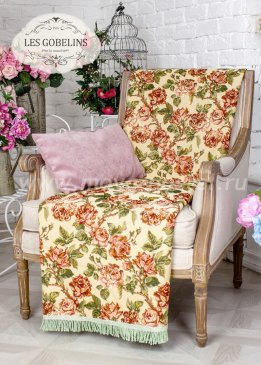 Накидка на кресло Rose vintage (50х140 см) - интернет-магазин Моя постель