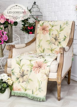Накидка на кресло Perle lily (100х120 см) - интернет-магазин Моя постель