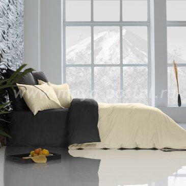 Постельное белье Perfection: Уголь + Ветка Ванили (2 спальное) в интернет-магазине Моя постель