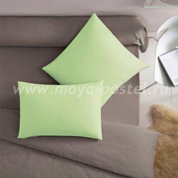 Салатовая наволочка (50х70 - 2 шт.) - каталог постельного белья в интернет-магазине Моя постель