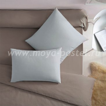 Серая наволочка (50х70 - 2 шт.) - каталог постельного белья в интернет-магазине Моя постель
