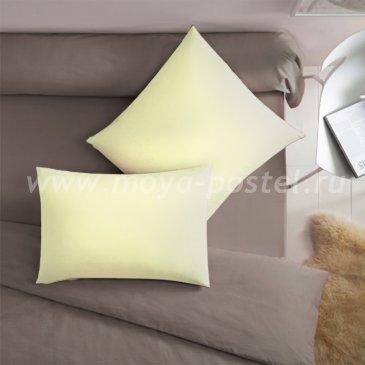 Светло-желтая наволочка (70х70 - 2 шт.) - каталог постельного белья в интернет-магазине Моя постель