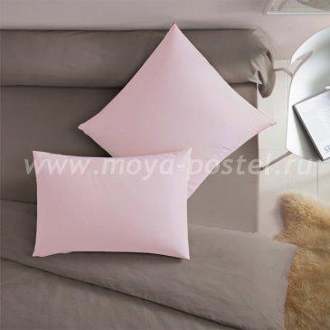 Наволочка Dome Цвет: Розовый (70х70 (2 шт)) - каталог постельного белья в интернет-магазине Моя постель