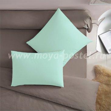 Мятная наволочка (70х70 - 2 шт.) - каталог постельного белья в интернет-магазине Моя постель