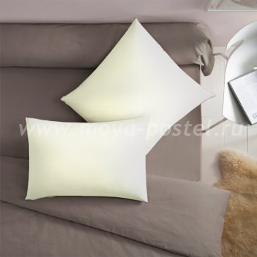 Наволочка молочного цвета (70х70 - 2 шт.) - каталог постельного белья в интернет-магазине Моя постель