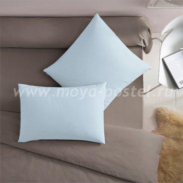 Голубая наволочка (70х70 - 2 шт.) - каталог постельного белья в интернет-магазине Моя постель