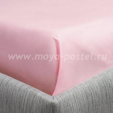 Простыня Aerlight Цвет: Розовый (200х214) в интернет-магазине Моя постель