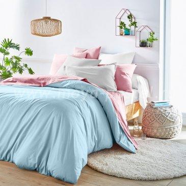 Голубой пододеяльник (180х215 см) + наволочки (50х70)  в интернет-магазине Моя постель