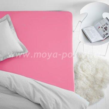 Простыня на резинке Dome, коралл, махра (200х200) в интернет-магазине Моя постель