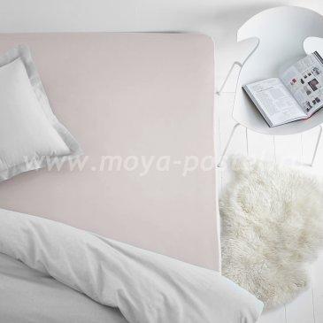 Простыня на резинке, цвет молочный (200х200), махра в интернет-магазине Моя постель