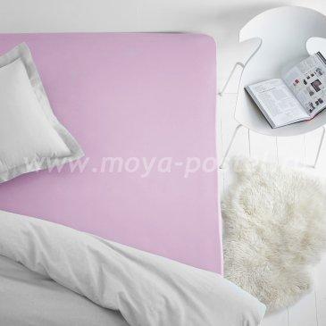 Простыня на резинке фиолетовая (200х200), махра в интернет-магазине Моя постель