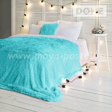 Покрывало Taeppe Цвет: Ментоловый (220х240 см) - интернет-магазин Моя постель