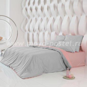 Постельное белье Perfection: Туманная Гавань + Цветок Сакуры (евро) в интернет-магазине Моя постель