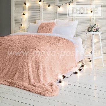 Покрывало Taeppe Цвет: Бледно-персиковый (200х220 см) - интернет-магазин Моя постель