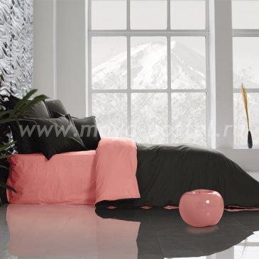 Постельное белье Perfection: Уголь + Цветок Сакуры (евро) в интернет-магазине Моя постель