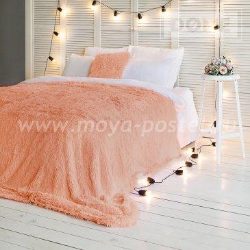 Покрывало Taeppe Цвет: Абрикосовый (150х220 см) - интернет-магазин Моя постель