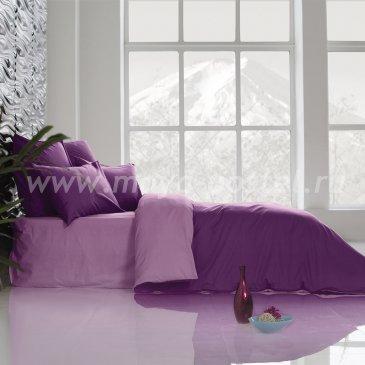 Постельное белье Perfection: Ультрафиолетовый+ Розовая Лаванда (евро) в интернет-магазине Моя постель