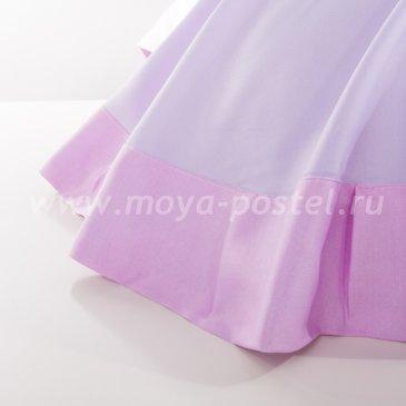 Постельное белье «Omasi» (Шелк Омэси), сиреневое, евро макси  в интернет-магазине Моя постель