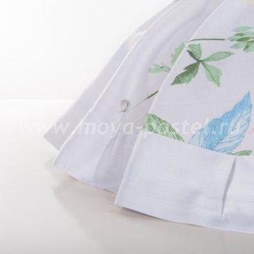 Постельное белье «Minako» (Минако) белого цвета, евро макси в интернет-магазине Моя постель